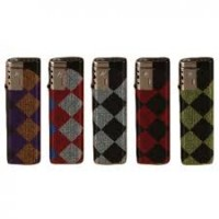 Torch Deluxe Lighter (50/Display) - Checker