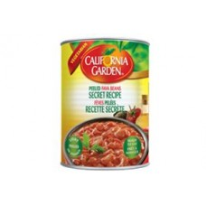 California Garden Fava Beans Secret Recipe 24 X 450 g Can