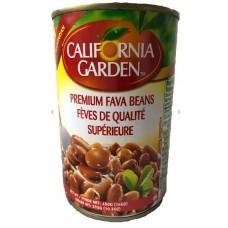 California Garden Fava Beans Regular 24x450 g Can