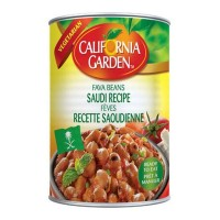 California Garden Fava Beans Saudi Recipe 24 X 450 g Can