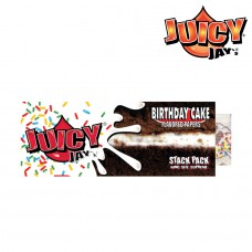 Rolling Paper - Juicy Jays King Size Birthday Cake With Tips (24 Units)