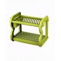 2 Tier Plastic Shelf for Bowls & Plates
