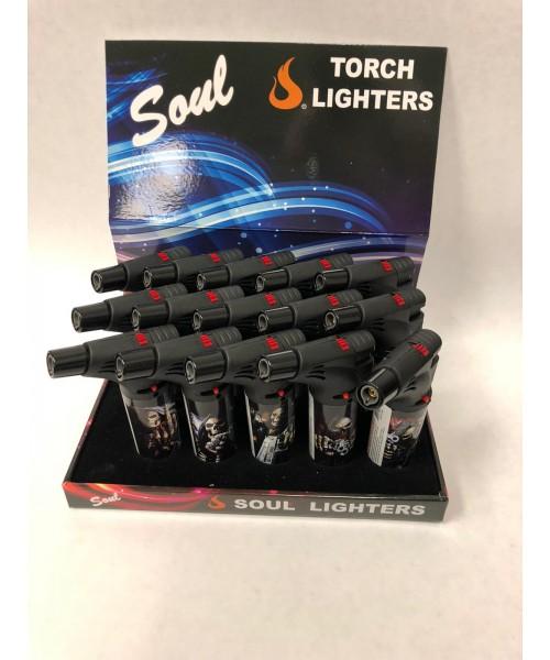 Soul Torch Lighter (15/Display) - Skull III