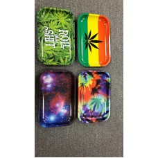 Rolling Paper Tray Assorted Design 29x19