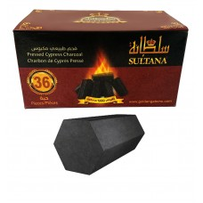 Charcoal - Sultana - Cypress (36 Pieces)