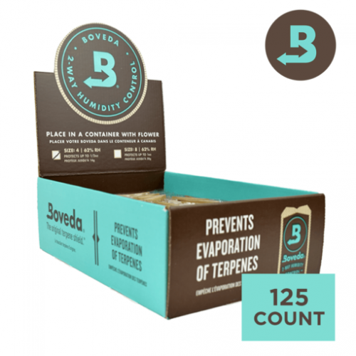 Boveda Herbal Humidity Control 62% RH (4g x 125)