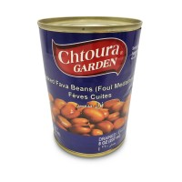 Chtoura Garden Cooked Cooked Fava Beans (Foul Medammas) (24 x 400 g)