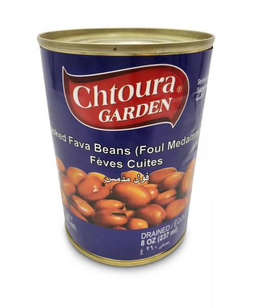 Chtoura Garden Cooked Cooked Fava Beans (Foul Medammas) (24 x 400 g)