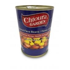 "Chtoura Garden Cooked Fava Beans ""Palestinian Recipe"" (24 x 400 g)"