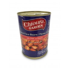 Chtoura Garden Cooked Fava Beans with Chilli (24 x 400 g)
