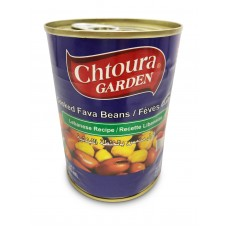 "Chtoura Garden Cooked Fava Beans ""Lebanese Recipe"" (24 x 400 g)"
