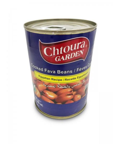 """Chtoura Garden Cooked Fava Beans """"Egyptian Recipe"""" (24 x 400 g)"""