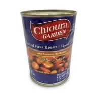 Chtoura Garden Cooked Fava Beans with Cumin (24 x 400 g)