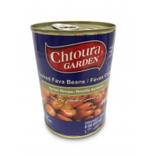 "Chtoura Garden Cooked Fava Beans ""Syrian Recipe"" (24 x 400 g)"