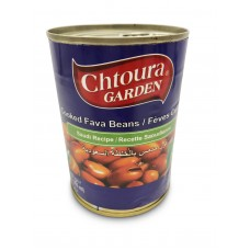 """Chtoura Garden Cooked Fava Beans """"Saudi Recipe"""" (24 x 400 g)"""