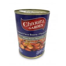 """Chtoura Garden Cooked Fava Beans """"Aleppo Recipe"""" (24 x 400 g)"""