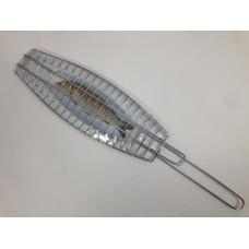 Grill Net w/Handle - Single (42 cm x 14.50 cm)