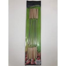 Skewers W/Wood Handle (31 Cm)(set of 12) HW-S-BSK-883