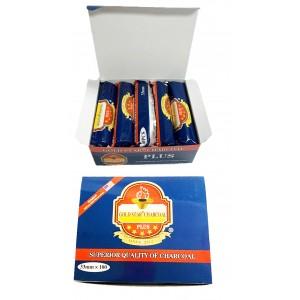 Gold Star PLUS Charcoal 33 mm (10 Rolls/Box) (BLUE BOX)