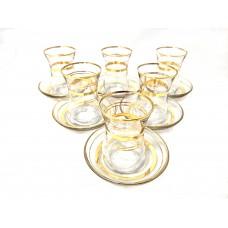 Cup & Saucer Set (12 pcs) - HW-MC-12-CAYSETI