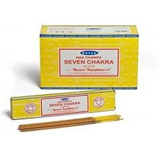 Incense - Nag Champa 15g Seven Chakra (Box of 12)
