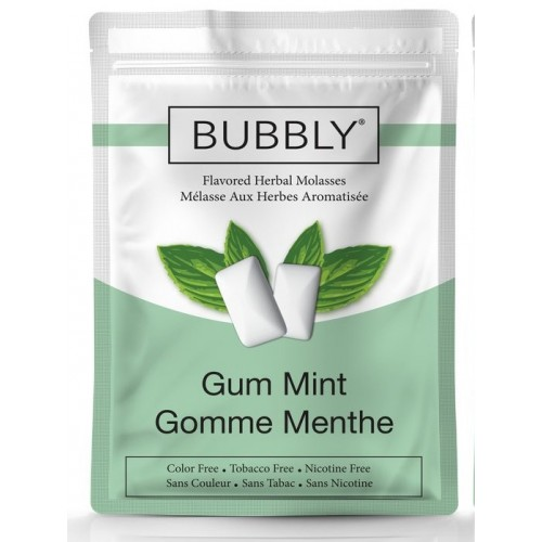 Bubbly Herbal Molasses 250 g - Gum Mint