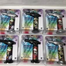 "6"" Multi Purpose Butane Torch Lighter - 4 Assorted (6)"