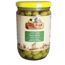 Mounit el Bait - Green Olives (12 x 660 g)