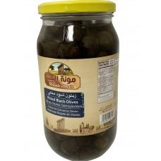 Mounit el Bait - Black Olives (12 x 1000 g)
