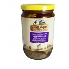 Mounit el Bait - Eggplant in Oil (12 x 600 g)