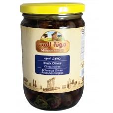 Mounit el Bait - Black Olives (12 x 660 g)