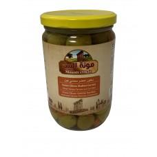 Mounit el Bait - Green Olives Stuffed Carrotts (12 x 660 g)