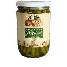 Mounit el Bait - Pickled Hot Peppers (12 x 660 g)