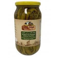 Mounit el Bait - Pickled Hot Peppers (12 x 1000 g)