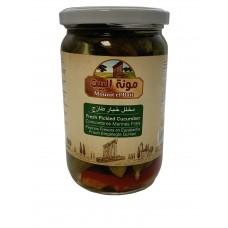 Mounit el Bait - Fresh Pickled Cucumber (12 x 660 g)