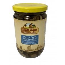 Mounit el Bait - Sliced Black Olives (12 x 660 g)
