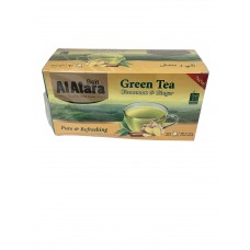 Beit Al Atara - Green Tea with Cinnamon & Ginger (24 packs of 20)