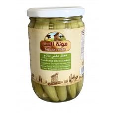 Mounit el Bait - Fresh Pickled Wild Cucumbers (12 x 660 g)