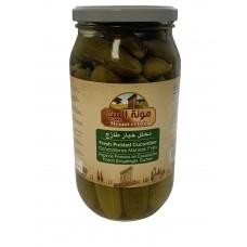 Mounit el Bait - Fresh Pickled Cucumber (12 x 1000 g)