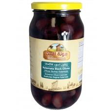 Mounit el Bait - Kalamata Black Olives (12 x 1000 g)