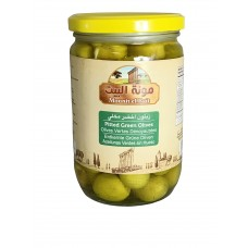 Mounit el Bait - Pitted Green Olives (12 x 660 g)