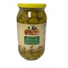 Mounit el Bait - Pitted Green Olives (12 x 1000 g)