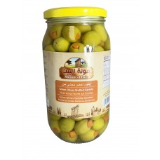 Mounit el Bait - Green Olives Stuffed Carrotts (12 x 1000 g)