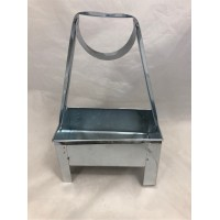"""Charcoal Carrier Rectangle Large (8""""x5'')"""