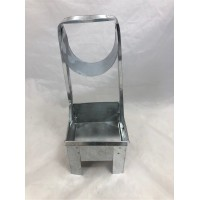 """Charcoal Carrier Square Small (4.5""""x4.5'')"""