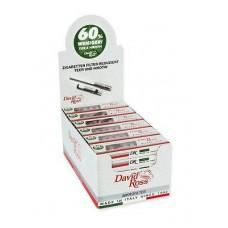 Cigarette Filters David Ross - (36 Packs of 10 / Display)