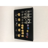 Stainless Steel Assorted Fashion Rings I (30)