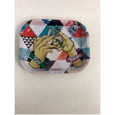Rolling Paper Tray Assorted Design Small