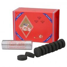 Three Kings Charcoal 33 mm (10 Rolls/Box)