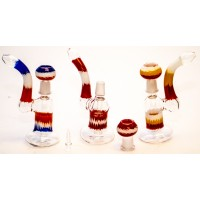 7 Inch Coloured Oil Bubbler
